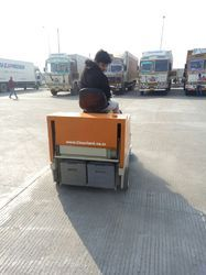 Battery Operated Runway Sweeper