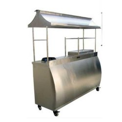 Display Counter With Griller
