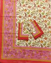 Mugal Goldwork Double Bed Sheets