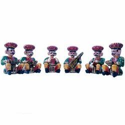 New Multicolor Wooden Rajasthani Babla Music Set, For Decoration