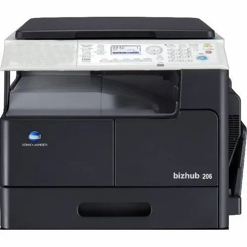 BH 206 Konica Multifunctional Laser Printer, Memory Size: 128mb