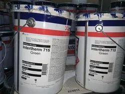 High Sheen Aluminium Akzo Nobel Intertherm 715 Green Heat Resistant Paint, Liquid, Packaging Size: 5 Ltr