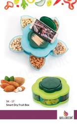 Welldecor Dry Fruit Box With Mobile Stand