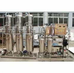 Natural Mineral Water Treatment Plant