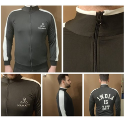 Dri Fit Fabric Full Men Dri Fit Jacket, Size: L