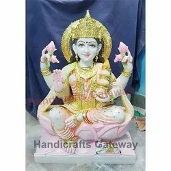 Indian Goddess Marble Laxmi Maa