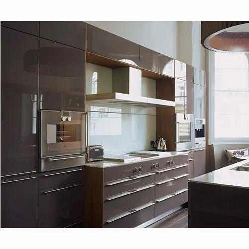 Neopia Acrylic Modular Kitchen