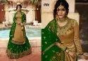 Paramount Georgette Embroidered Lehenga Style Salwar Kameez