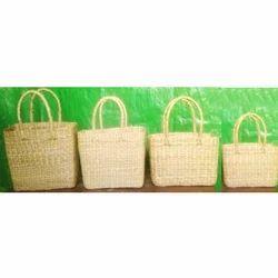 Bamboo Fancy Handle Marketing Bag