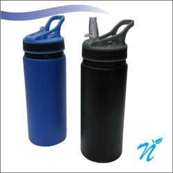 600 ml Matt Finish Metal Sipper Bottle