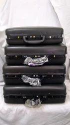 Natraj Luggage Plastic Fibre and Aluminium Briefcase - Aluminium Shell