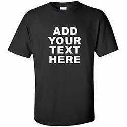 Customised Mens Round Neck T Shirt