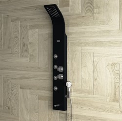 ZION White Thermostatic Shower Panel