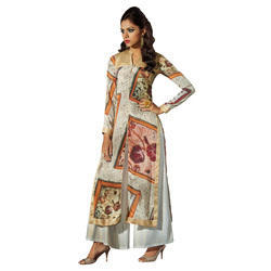 Casual Large Ladies Designer Long Kurti