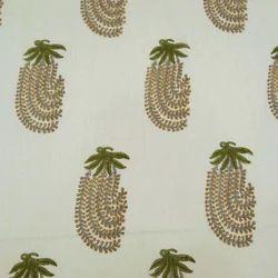 Mugal Boota Hand Printed Cotton Fabric
