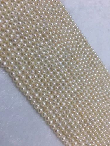 20mm Round White Color South Sea Mabe Pearl Loose Gemstone