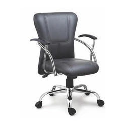 Sps-146 Medium Back Leather Executive Chair