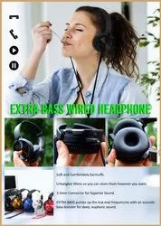 Extra Bass Wired Headphone