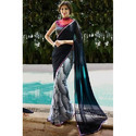 Printed Fancy Georgette Saree