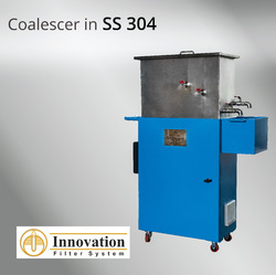 Coalescer Oil Skimmer for Water Based Emulsion Coolants