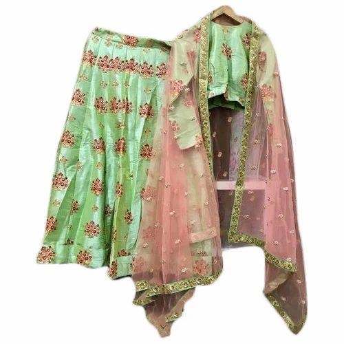0c79023f7b Sakhi Creation Raw Silk Women Lehenga, Rs 8000 /piece, Sakhi ...