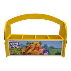 Wooden Kids Pen Stand