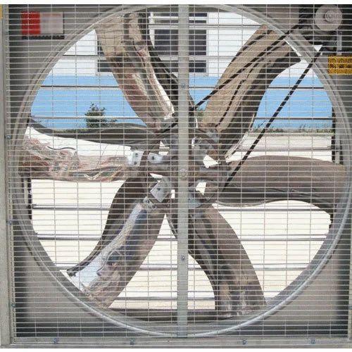 Grey Stainless Steel Exhaust Fan