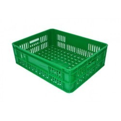 Green Bakery Crate