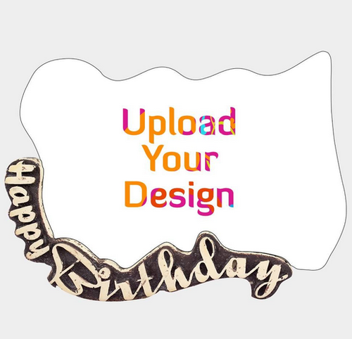 Brown Make Your Own Beautiful Happy Birthday Frame, Rs 549 /piece ...