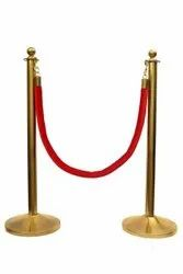 Queue Post  (with Velvet Rope)