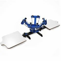 PRINTRIDE 4 Color 2 Station Screen Printing Machine, 4IN2