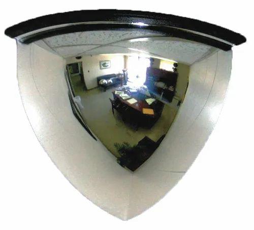 Quarter Dome Mirror 18 Inch