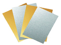 LC Golden Inkjet PVC Sheet With Overlay(A4 Size)