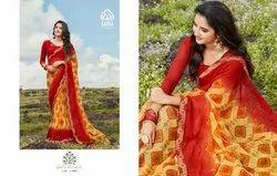 Sasya Designer Pallavi Bember Georgette Casual Wear Saree