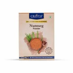 Crista Nutmug Powder, Packaging Type: Packet, Packaging Size: 50g