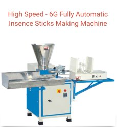 6g Speed Agarbatti Making Machine
