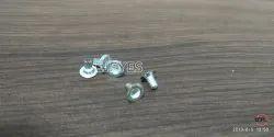 No. 2451 Brass Eyelets Silver