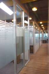 Corporate Modular Glass Partition
