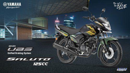 Yamaha Saluto 125 with UBS