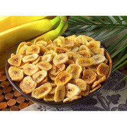Roasted Banana Chips Packed, Packaging Type: Packet