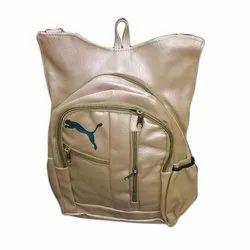 Raxine Tan Girls Plain College Bag
