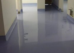 PU Floor Coating Service, Drying Time: 3-5 Hrs