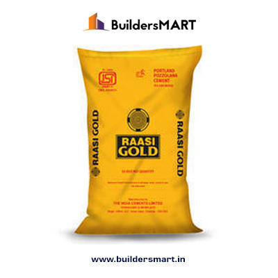 Raasi Gold Super Cement, Packaging Type: Bag