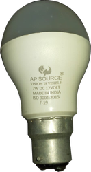 Ap Source DC Bulb 7 Watt for Home And Office, Base Type: B22