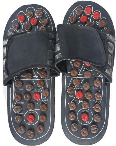c3f65818e970 Black And White Unisex Acupressure Paduka