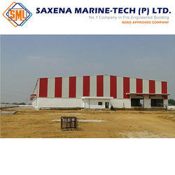 color coated coil and GP coi PEB Warehouse Structure
