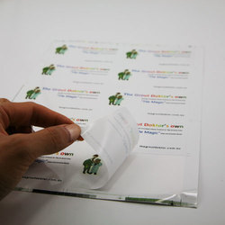 Paper Adhesive Sticker