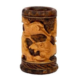 Wooden Antique Pen Holder