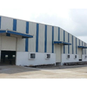 Prefab Warehouse Mild Steel Sheds, 80-100 Km Per Hour