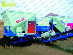 Mobile Concrete Batching Plant MB Series